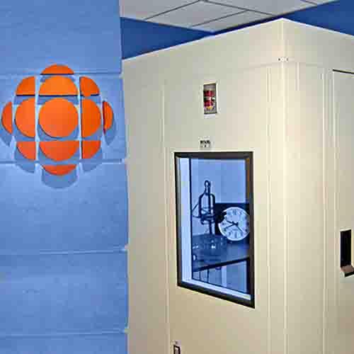 Eckel Studio at CBC